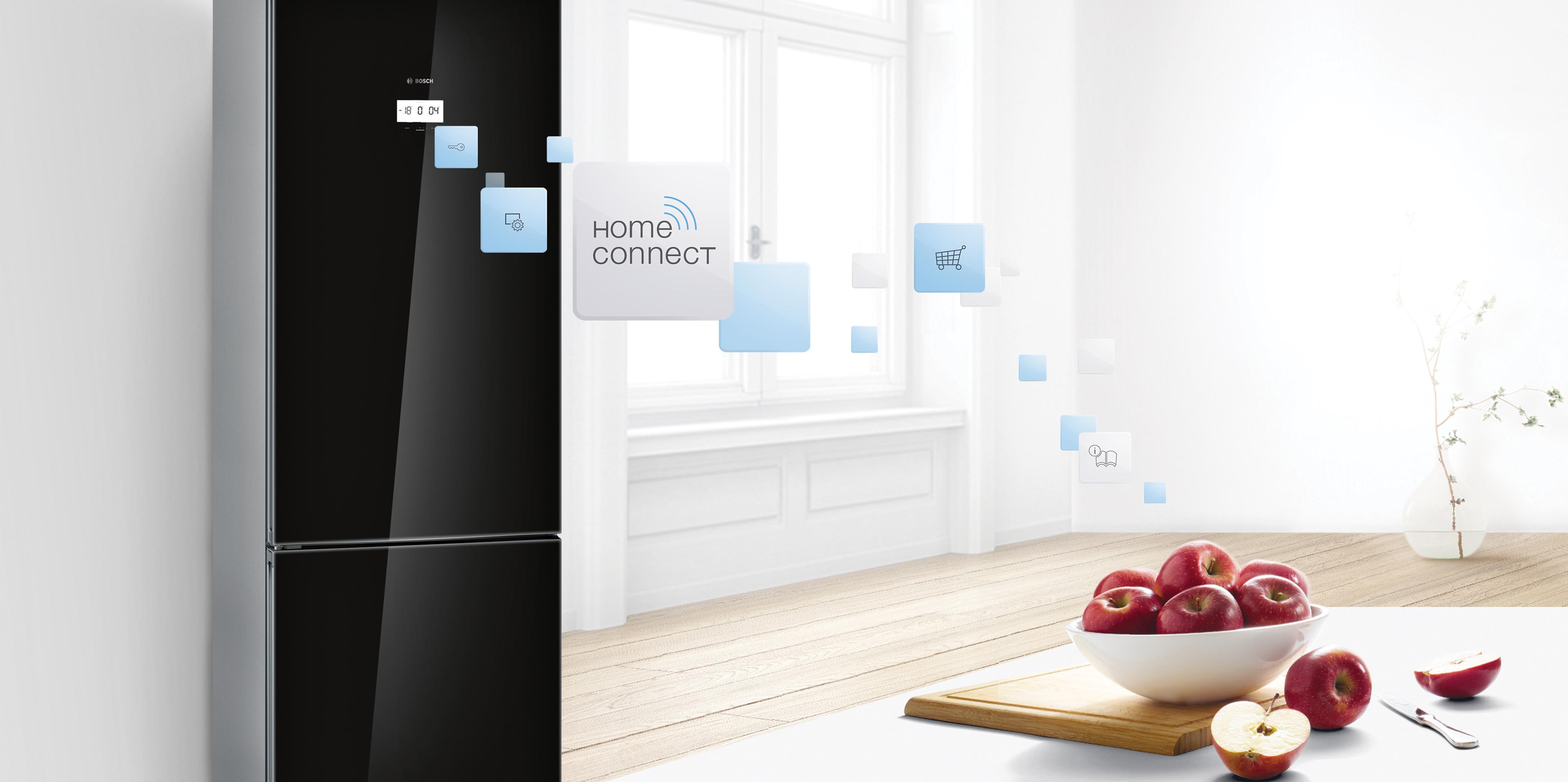 Bosch buzdolabı Home Connect