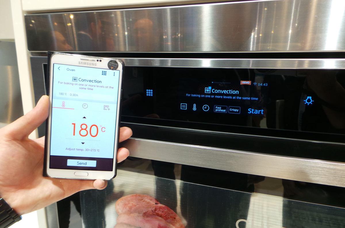 Samsung Chef Collection NV73J9770RS Wi-Fi Ankastre Elektrikli Fırın