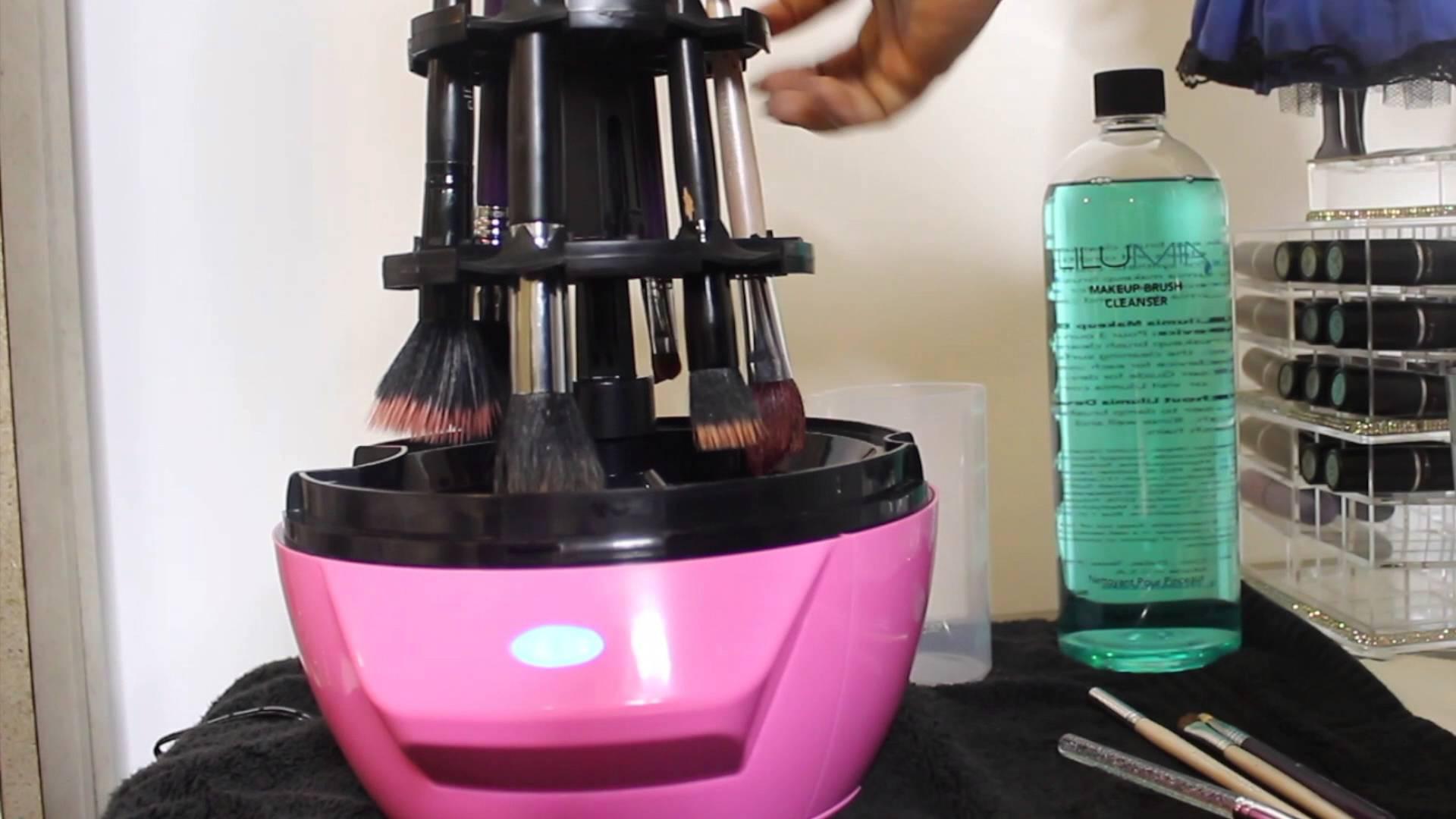 Makyaj fırçası temizleme makinesi Lilumia