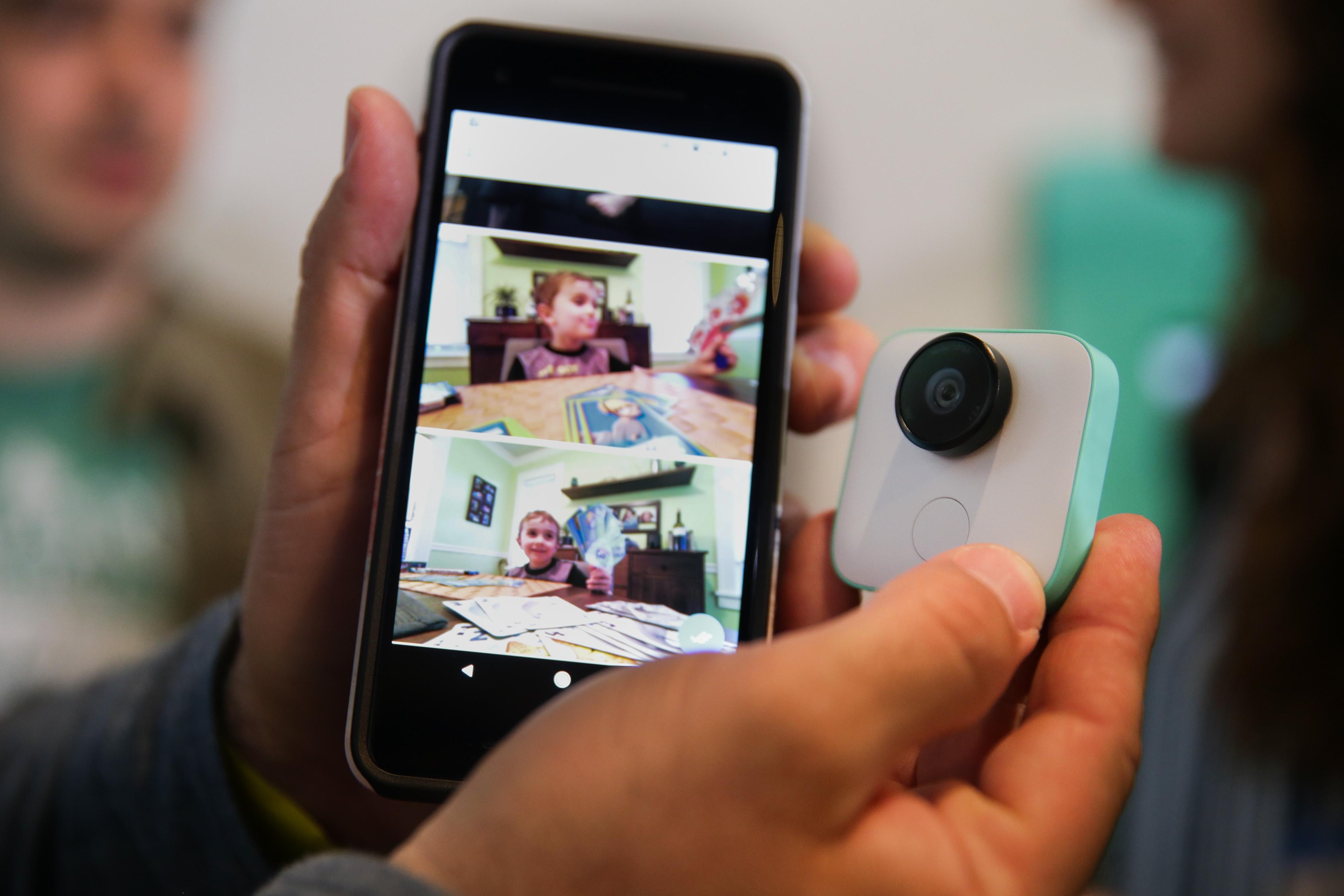 Google Clips kamera