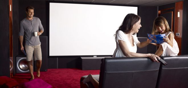 Somfy ile evde sinema keyfi