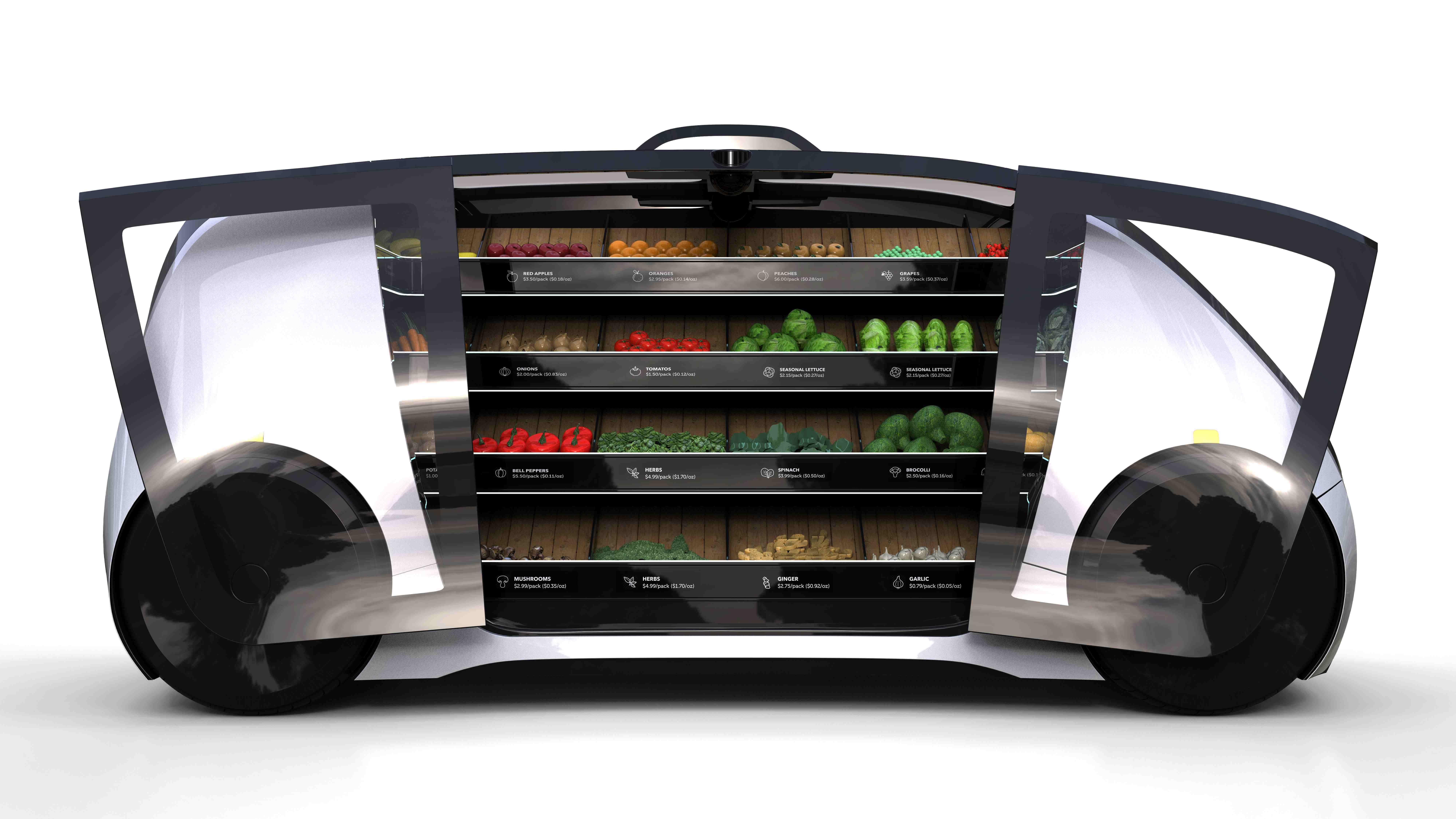 robot süpermarket